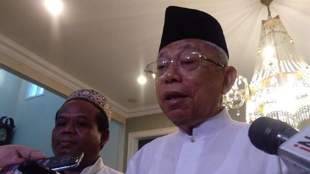 Siap Dampingi Jokowi, Maruf Langsung ke Lokasi Debat Kedua
