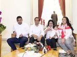 Santai Jelang Debat Capres, Jokowi Sempat Tidur Siang dan Dipijiti Iriana