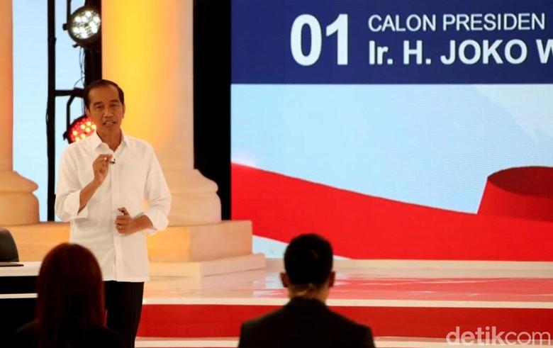 Ramai Jokowi Pakai Earpiece Saat Debat, Tim Prabowo Minta Penjelasan