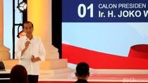 Diserang Soal Infrastruktur oleh Prabowo, Begini Ekspresi Jokowi