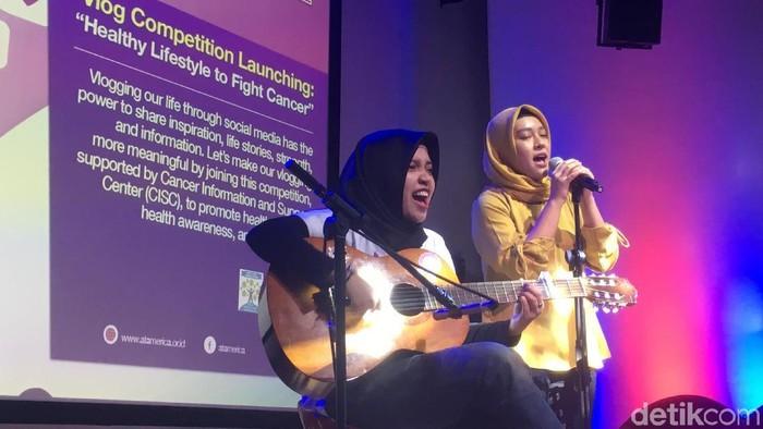 Intan pernah viral karena aksinya mengcover lagu Blackpink (Foto: Frieda Isyana Putri/detikHealth)