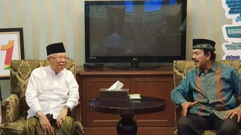 Maruf Amin Terima Dukungan dari Pewaris Kesultanan Banten