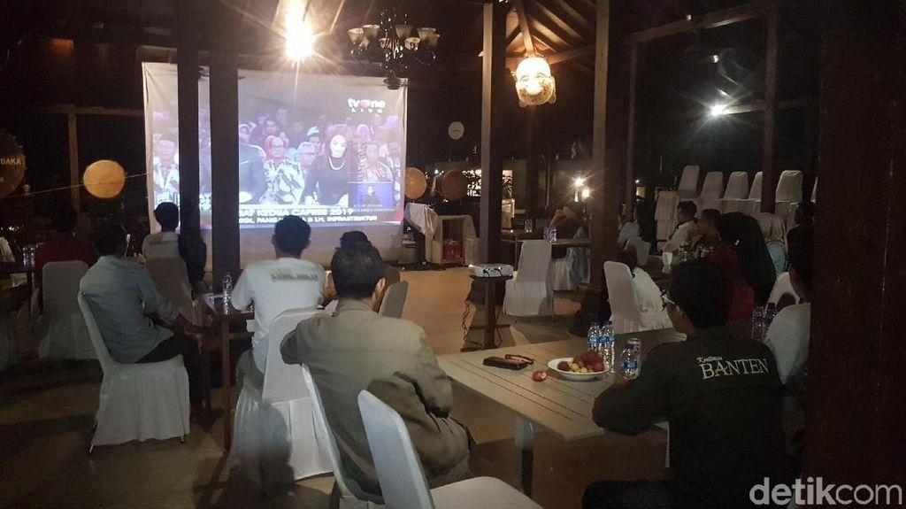 Simpatisan Prabowo di Serang Nobar Debat di Rumah Elite Gerindra