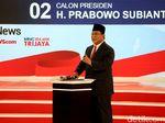 Median Nilai Prabowo Jadi Dirinya Sendiri di Sesi Debat Ke-2