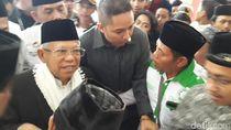 Maruf Amin Akan Dukung Jokowi dari Pinggir Panggung Debat