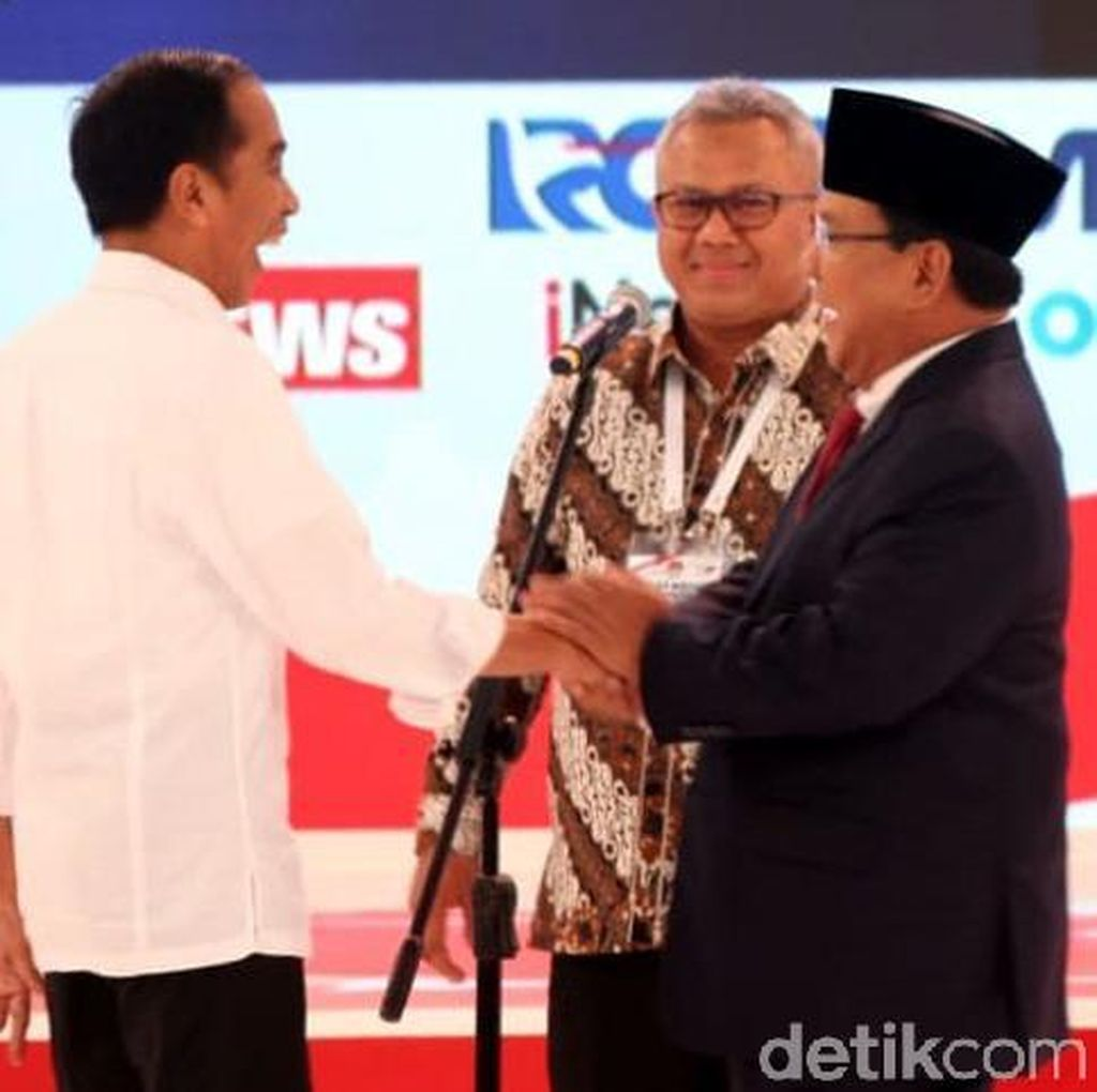 Prabowo Ajak Sudahi Debat Bekas Lubang Tambang, Jokowi Setuju