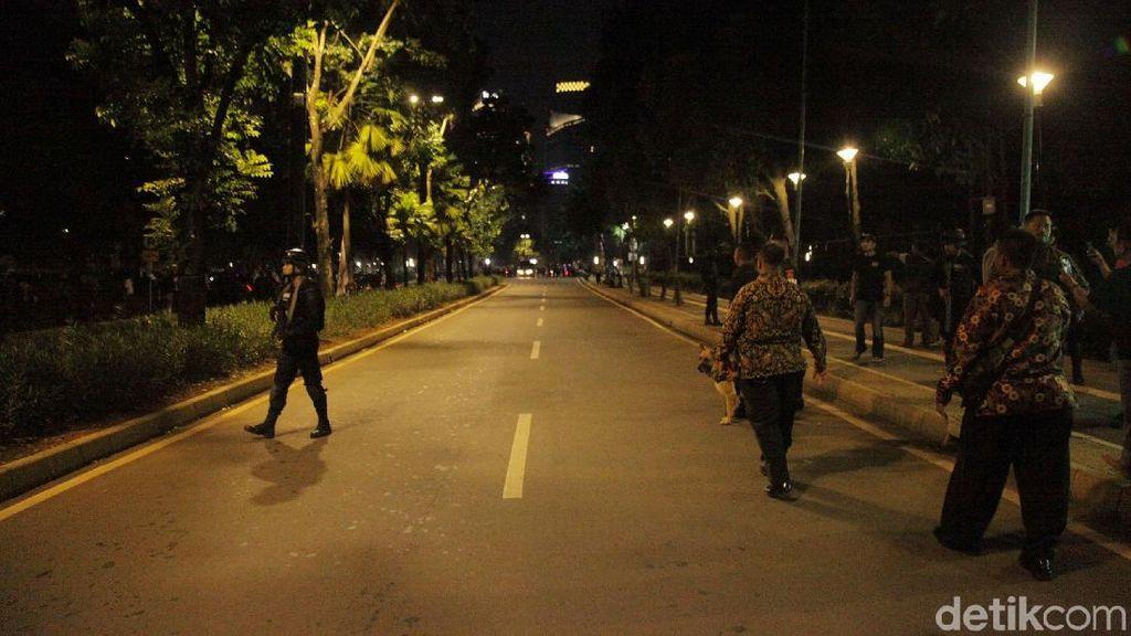 Labfor Teliti Petasan yang Meledak di Parkit Senayan