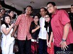 Usai Jogging, Jokowi Bawa Istri, Anak dan Cucu Makan Siang Bersama