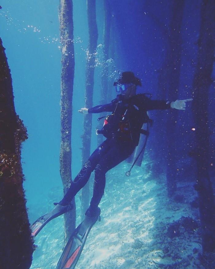 Namun hobi ini hanya dilaksanakan bila ada kesempatan karena diving biasanya perlu beberapa hari. (dok. pribadi Tommy Tjokro)
