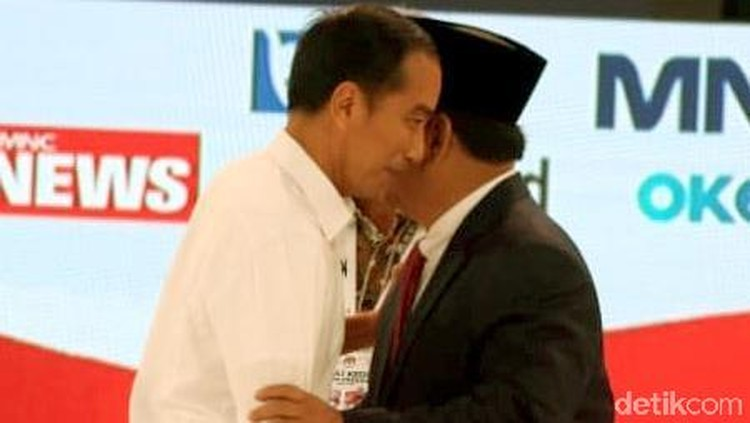 Real Count KPU 35%: Jokowi-Amin 56,10% Prabowo-Sandi 43,90%