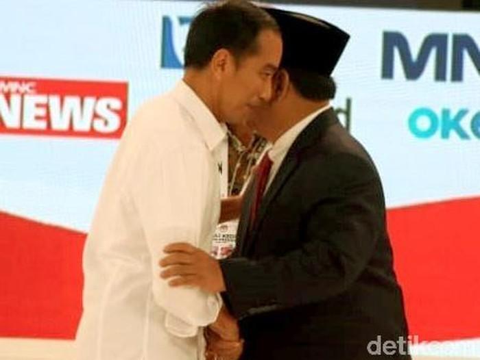 Jokowi dan Prabowo bersaing di Pilpres 2019. (Foto: Rengga Sancaya)