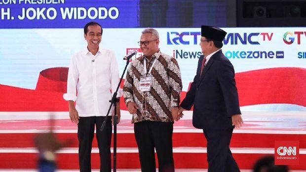 Dalam debat kedua Pilpres 2019, Jokowi dan Prabowo bertarung 'one on one'.