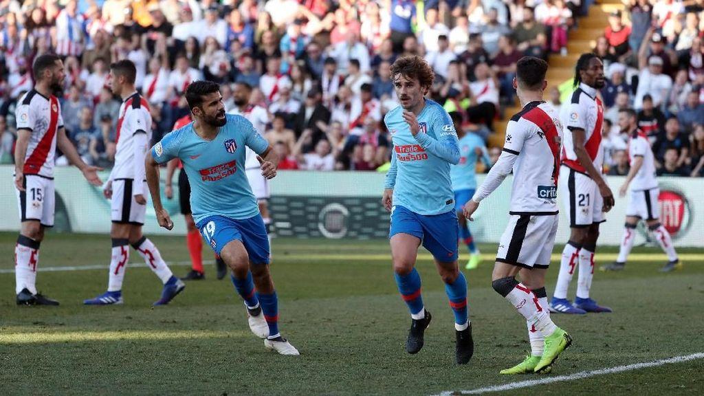 Hasil Liga Spanyol: Griezmann Bawa Atletico Atasi Rayo Vallecano 1-0