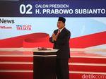 Prabowo Tepis Jokowi di Panggung Debat: Saya Bukan Pesimis, Saya Optimis!