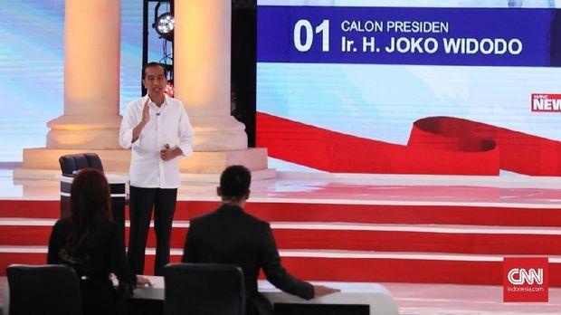 Capres nomor urut 01 Joko Widodo banyak menggunakan data untuk 'menghujani' Prabowo dalam debat capres kedua Pilpres 2019.