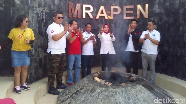 15 Kota di Jateng Bakal Dilewati Api Kirab Cinta Jokowi-Ma'ruf
