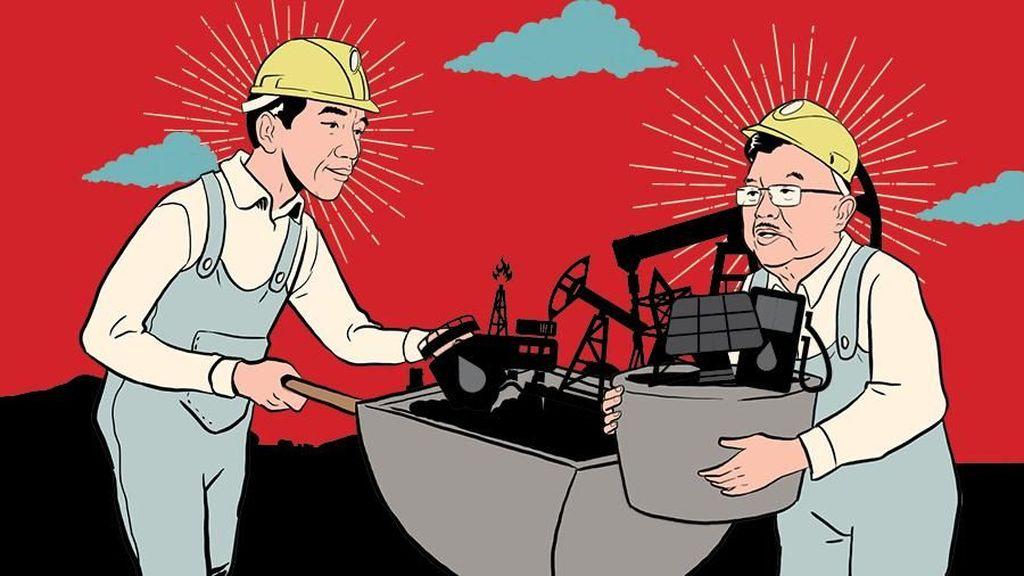 Senjata Energi Jokowi, Rebut Freeport dan BBM satu Harga
