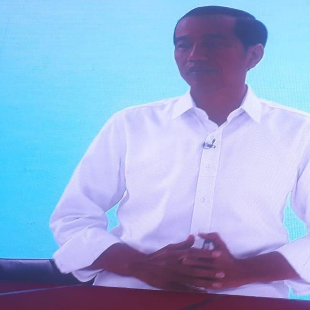 Ini Momen Jokowi Disebut Pakai Earpiece Saat Debat