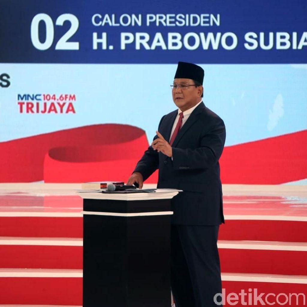 BPN Janji Prabowo Bikin Kejutan Kekinian di Debat, Hasilnya?