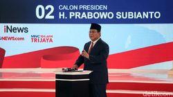 Prabowo Jelaskan Kepemilikan Tanahnya di Kalimantan dan Aceh