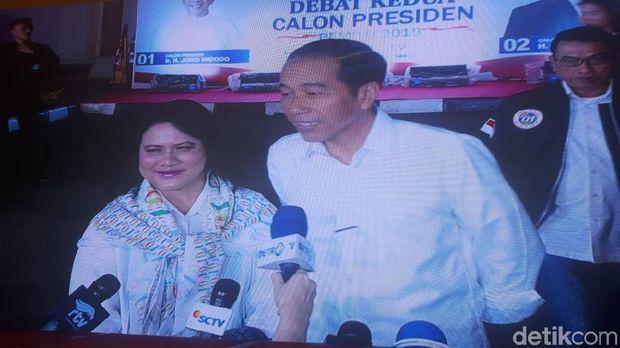 Live Report Debat Pilpres 2019: Jokowi Tiba di Lokasi Debat