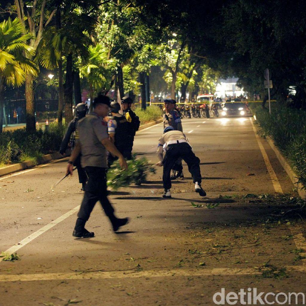 Polri: Petasan yang Meledak di Parkit Senayan Dilempar