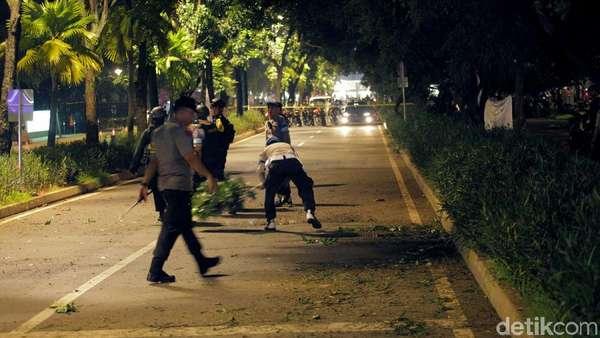 Polisi Dalami Keterkaitan Abu Riky dengan Ledakan Petasan Saat Debat Capres