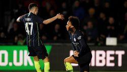 Hasil Piala FA: Newport County 1-4 Man City