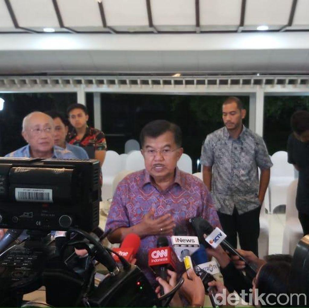 JK Soal Debat Kedua: Jokowi Lebih Baik Dibanding Prabowo