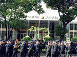 Polisi dan TNI Apel Gabungan Pengamanan Debat di GBK