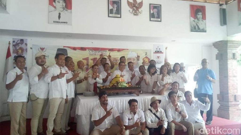 Tim Prabowo-Sandi Targetkan Raup 40% Suara di Bali