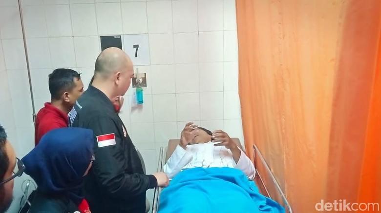 Petasan Meledak di Senayan, 7 Orang Relawan Jokowi Dibawa ke RS