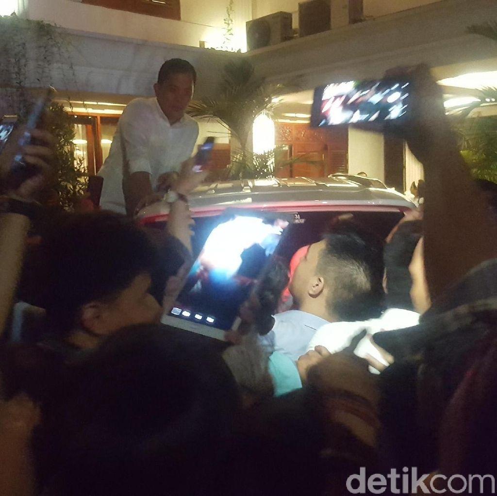 Canda Prabowo yang Diundang Relawan ke Nikahan Anak