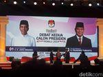Debat Capres Kedua Tanpa Supporter di Panggung