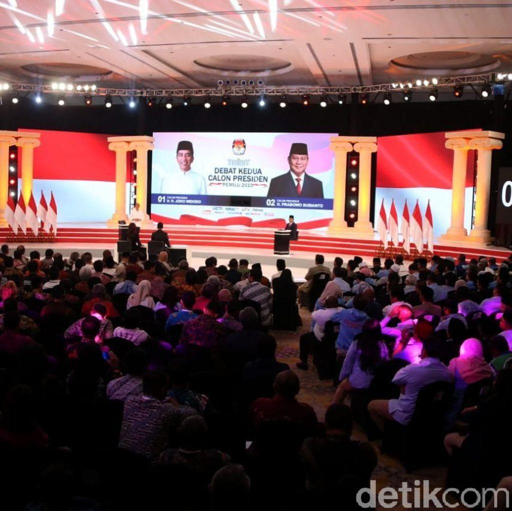 """""""Logos"""" Jokowi dan """"Pathos"""" Prabowo di Debat Kedua"""