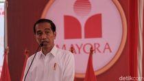 Jokowi Lepas Kontainer Ekspor PT Mayora Ke-250.000