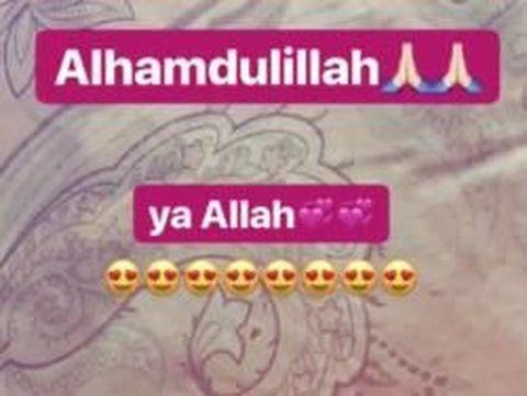 Posting Alhamdulillah, Kartika Putri Hamil Anak Habib Usman?
