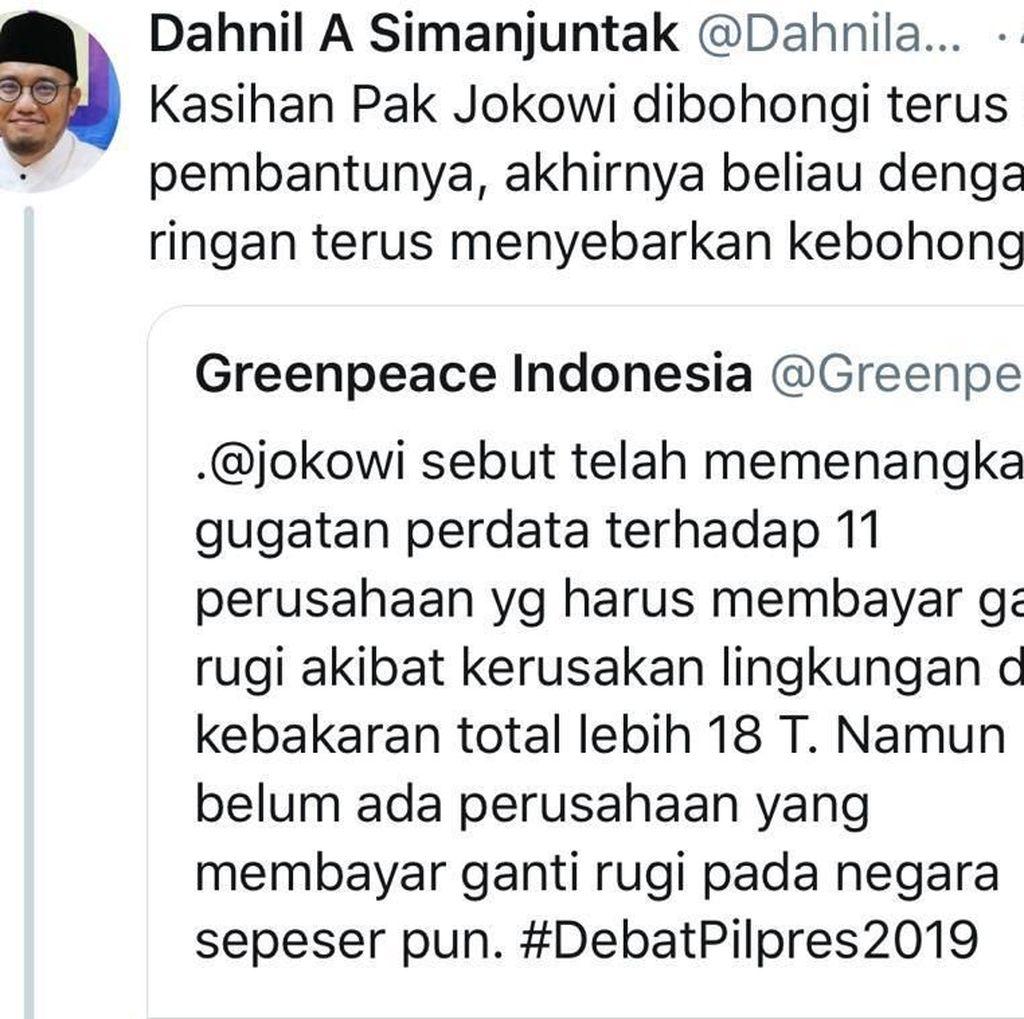 Dahnil Sebut Jokowi Sebar Kebohongan, Ini Rumitnya Eksekusi Rp 18 T