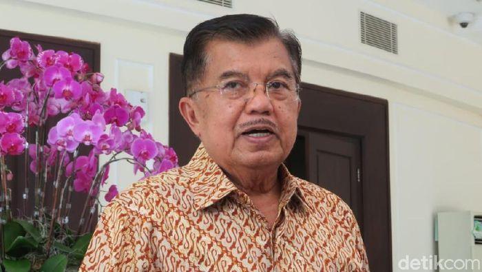 Foto: Wakil Presiden Jusuf Kalla (JK) (Noval-detikcom).