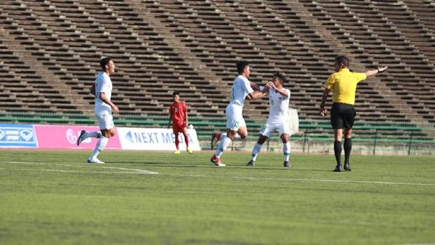 Timnas Indonesia akan menghadapi Malaysia di laga kedua Grup B.