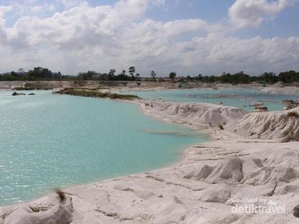 Danau Kaolin di Belitung (Brigida Emi Lilia/dTraveler)