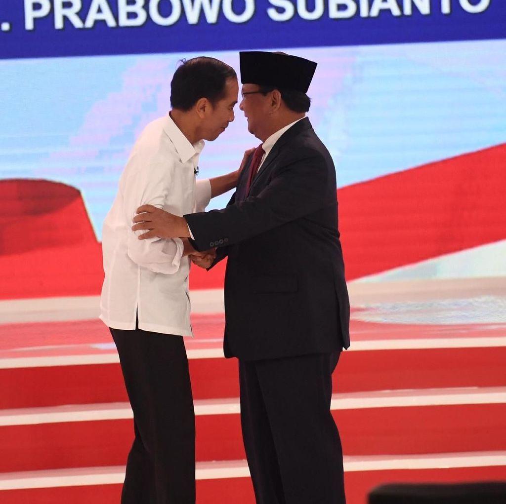 Di Balik Gestur Jokowi dan Prabowo dalam Panasnya Debat