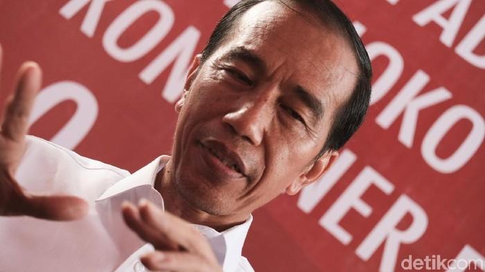 Capres Joko Widodo (Jokowi).