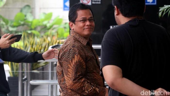 Sekjen DPR Indra Iskandar (Ari Saputra/detikcom)