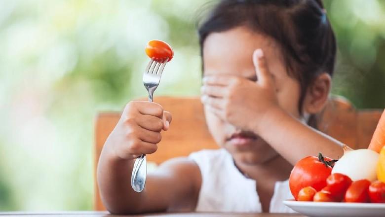 Fobia makanan pada anak/ Foto: iStock