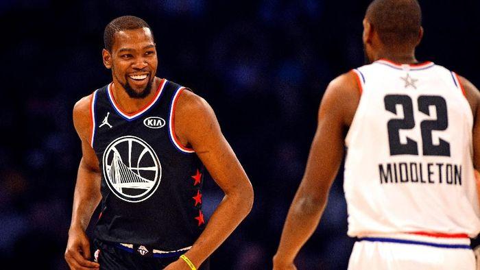 Kevin Durant MVP di laga NBA All Star 2019. (Foto: Bob Donnan-USA TODAY Sports/REUTERS)