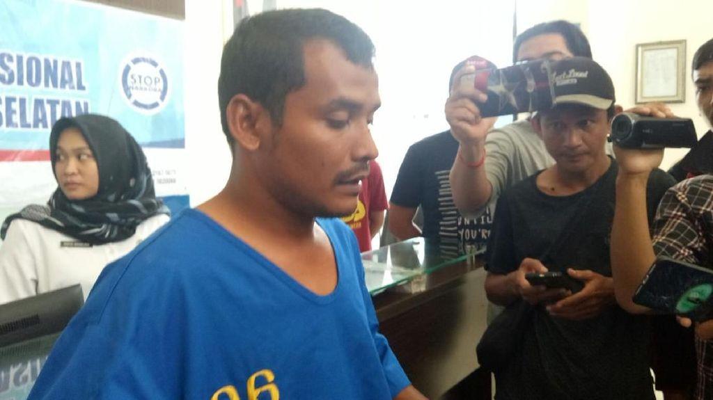 Diupah Rp 6 Juta, Kurir 2 Kg Sabu Asal Aceh Ditangkap di Palembang