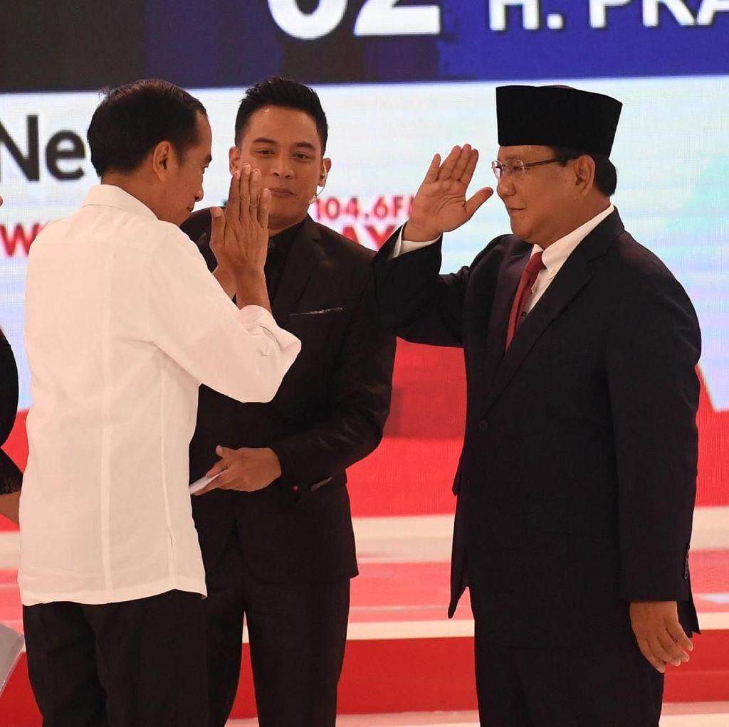Prabowo 19 Kali Ucapkan Infrastruktur, Jokowi Bilang Bangun 24 Kali