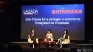 Bhinneka Akan Gandeng e-Commerce Lain, Tak Cuma Lazada