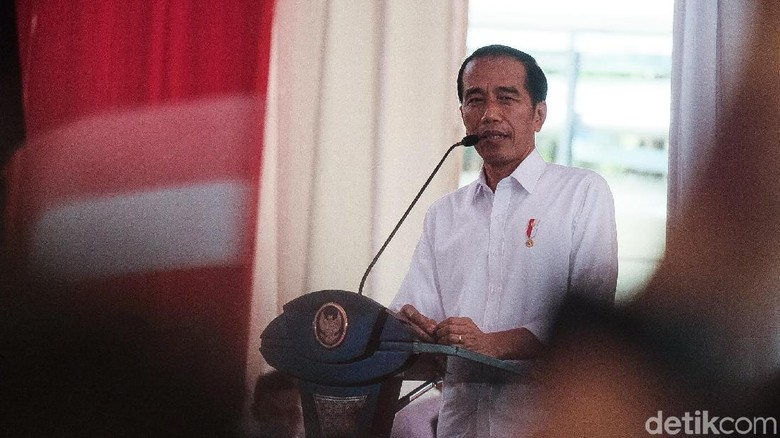 Jokowi Jawab Cerita Miring Sudirman Said soal Akuisisi Freeport